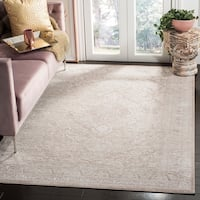 Safavieh Reflection Contemporary Oriental Beige / Cream Polyester Rug - 9' x 12'