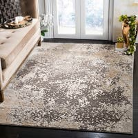 Safavieh Vogue Contemporary Geometric Cream / Beige Polyester Rug - 8' x 10'