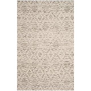 Safavieh Handmade Marbella Asya Modern Wool Rug (3 x 5 - Light Brown/Ivory)