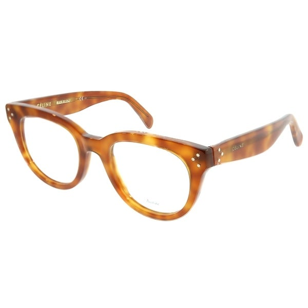 708772568524 Celine Cat-Eye CL 41379 Anna TEN Women Light Havana Frame Eyeglasses