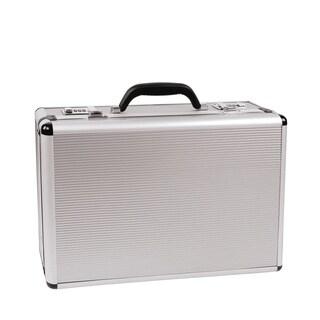 Attache Case in Silver Aluminum