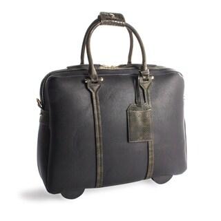 Ladies Business Bag on Wheels in Black