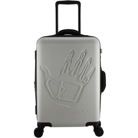 Body Glove Redondo 22-inch Hardside White Suitcase - 9.0 In. X 14.5 In. X 21.5 In.