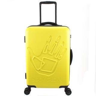 Body Glove Redondo 22 Inch Hardside Yellow Suitcase