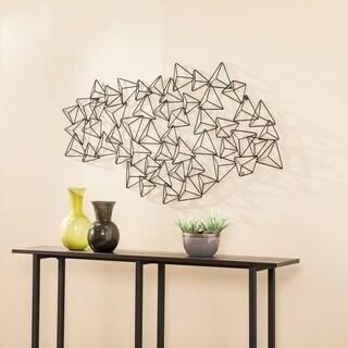 Harper Blvd Qualan Geometric Abstract Wall Sculpture