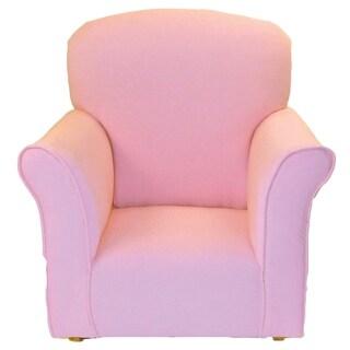 Toddler Rocker in Baby Pink Cotton