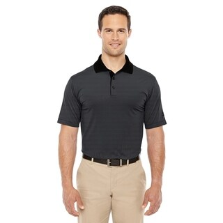 adidas Golf mens ClimaLite Classic Stripe Short-Sleeve Polo (A119)