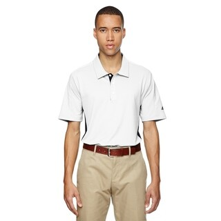 adidas Golf mens puremotion® Colorblock 3-Stripes Polo (A128)