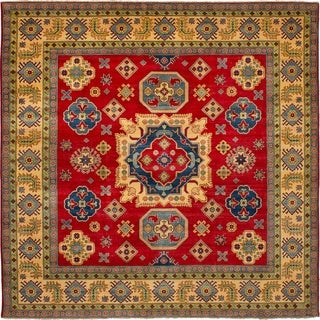eCarpetGallery Hand-knotted Finest Gazni Red Wool Rug - 9'4 x 9'2