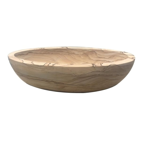 Shop CORDOVA Sandstone Bath Tub - Ships To Canada