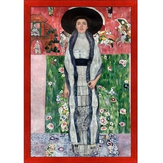 Gustav Klimt 'Portrait of Adele Bloch-Bauer II' Hand Painted Oil Reproduction