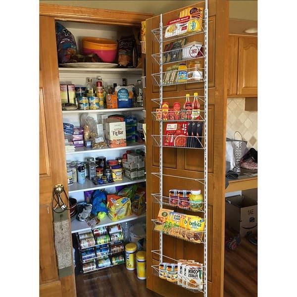 Pleasant Shop Over The Door Organizer Space Saving Hanging Storage Interior Design Ideas Gresisoteloinfo