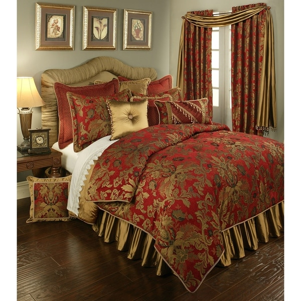 PCHF Verona Red 3-piece Luxury Comforter Set