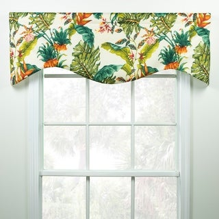 Jamaica tropical haped valance