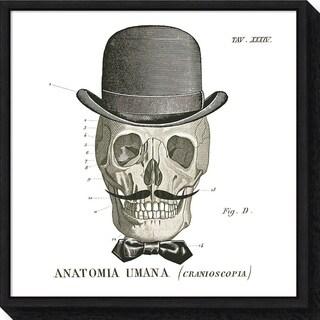 Canvas Art Framed 'Dandy Bones IV' by Sue Schlabach