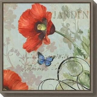 Canvas Art Framed 'Jardin' by Aimee Wilson
