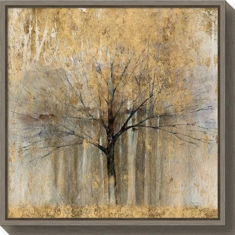 Canvas Art Framed 'Open Arms Gold Crop' by Avery Tillmon
