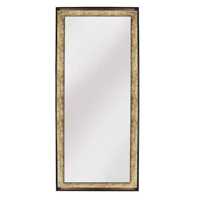 Wood Round Free Standing Mirrors