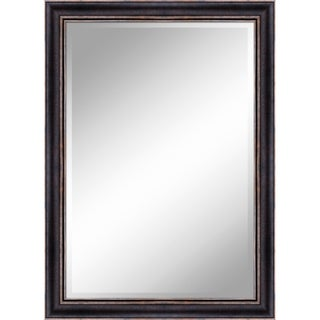 """31 X 43 Bronze Gold Mirror 1"""" Bevel with 3.5"""" frame - Bronze/Gold - N/A"""