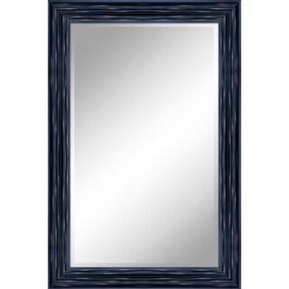 "24 X 36 Antique Black Mirror 1"" Bevel with 3.5"" frame - Antique Black - 24"" x 36"" x 1"""