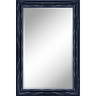 "24 X 36 Antique Black Mirror 1"" Bevel with 3.5"" frame - Antique Black - N/A"