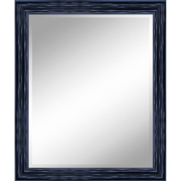 "31 X 37 Antique Black Mirror 1"" Bevel with 3.5"" frame - Antique Black - 31"" x 37"" x 1"""