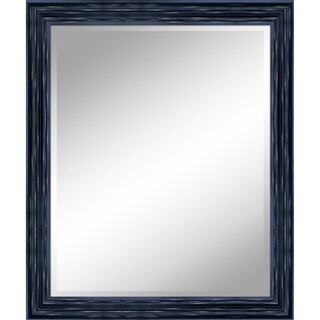 "31 X 37 Antique Black Mirror 1"" Bevel with 3.5"" frame - Antique Black - N/A"
