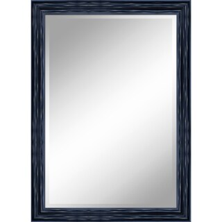 "31 X 43 Antique Black Mirror 1"" Bevel with 3.5"" frame - Antique Black - 31"" x 43"" x 1"""
