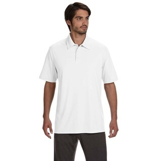 All Sport mens Performance Three-Button Polo (M1809)