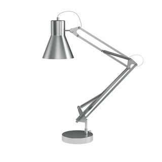 Architect Desk Lamp- LED Task Light with Adjustable Swing Arm for Home and Office Lavish Home (Brushed Steel)