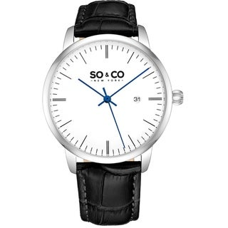 SO&CO New York Men's Classic Dress Watch