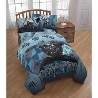 Marvel Black Panther Blue Tribe Twin Bed in a Bag
