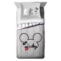 Disney Mickey Mouse Jersey Classic Twin/Full Comforter and Sham Set