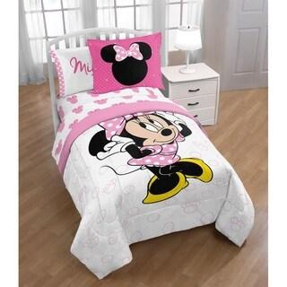 Disney Minnie Mouse XOXO Twin Comforter with Sham