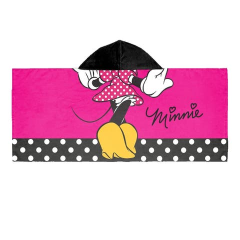 Disney Minnie Mouse Hooded Towel