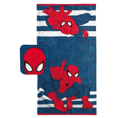 Marvel Spiderman 2PC Bath Set