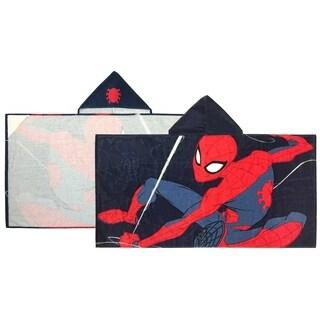 Marvel Spiderman Web Head Hooded Towel