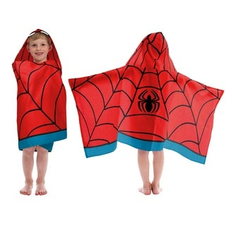 Marvel Spiderman Hooded Towel