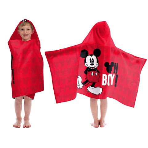 Disney Mickey Mouse Oh Boy Hooded Towel
