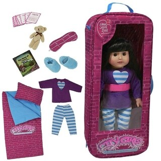 "18"" doll sleepover set"