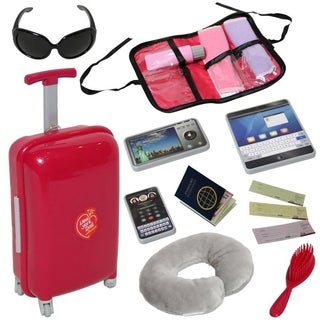"""Travel Accesory set for 18"""" Doll"""