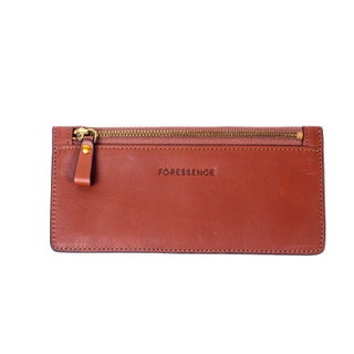 Foressence Zip Handy Genuine Leather Wallet - S