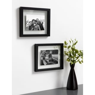Link to DesignOvation Gallery Float Glass Picture Frame Set Similar Items in Decorative Accessories