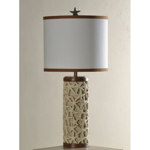 Merveilleux Shop StyleCraft Starfish Table Lamp With Shade   Free Shipping Today    Overstock   22718363