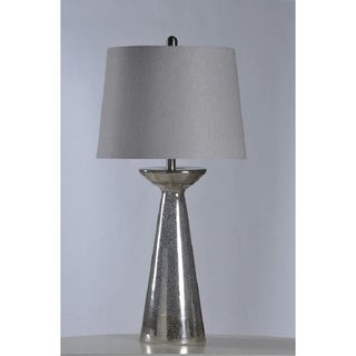 StyleCraft Northbay Glass Table Lamp with Shade