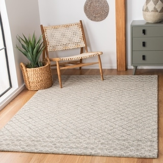 Safavieh Handmade Abstract Sadie Modern Wool Rug