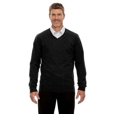 North End mens Merton Soft Touch V-Neck Sweater (81010)