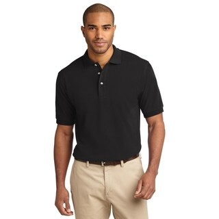 Port Authority Mens Pique Knit Polo (K420)