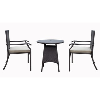 Azusa 3 Piece Bistro Dining Set with Cushion
