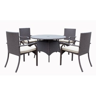 Azusa 5 Piece Dining Group with Cushion